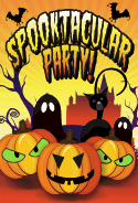 Spooktacular Party Card