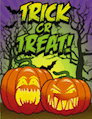 Trick or Treat Small Card