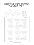 Kids Ghosts Maze