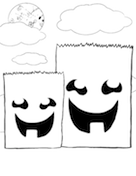 Two Bags Coloring Page